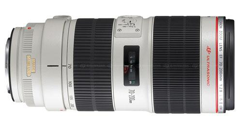 Lens Canon EF 70-200mm F2.8 L IS II USM