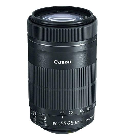 Lens Canon EF-S 55-250mm F4-5.6 IS STM