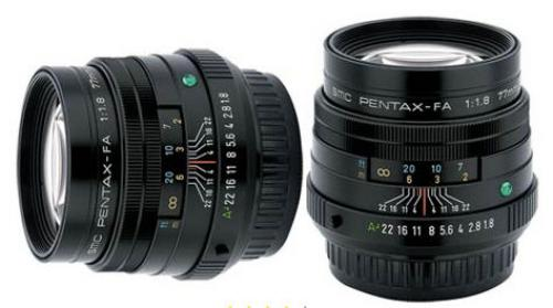 Lens Pentax FA 77mm F1.8 Limited
