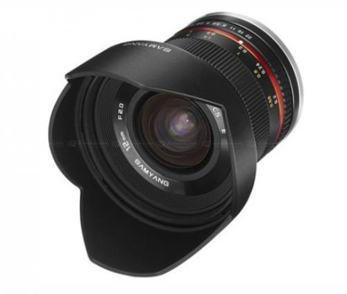 Lens Samyang 12mm F2.0 NCS CS