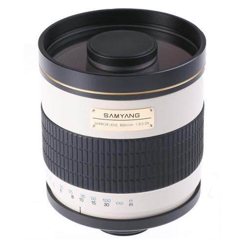 Lens Samyang 800mm F8.0 DX Mirror