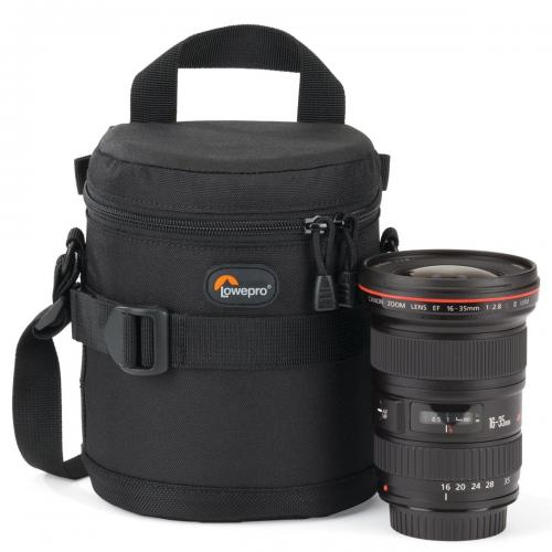 LOWEPRO LENS CASE 11 X 14 CM ( BLACK )