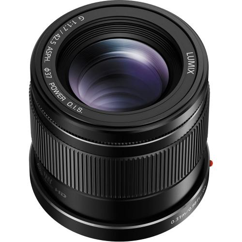 Panasonic 42.5mm F1.7 OIS