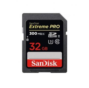 Sandisk SD Extreme Pro (300mb/s)