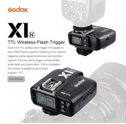 Trigger Godox TTL Wireless Flash X1N for Nikon