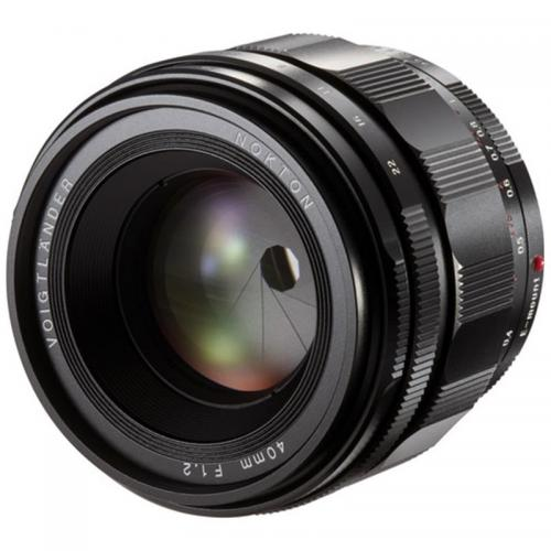 Voigtlander Nokton 40mm F1.2 for Sony E
